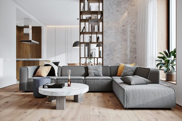 Cozy Contemporary Family Apartment in Moscow