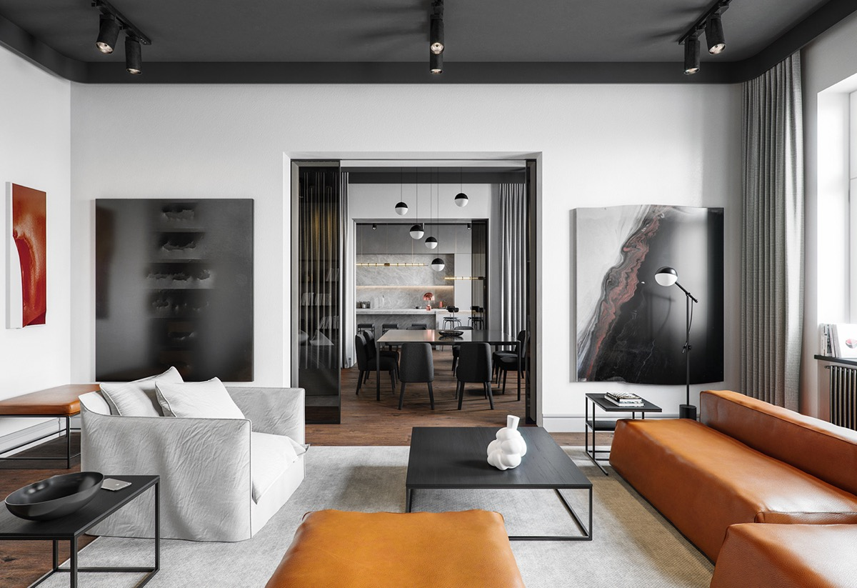 2 Sophisticated Industrial Style Homes