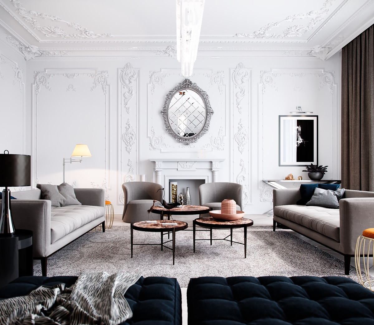 Living Room Decor Inspiration: 51 Luxury Living Rooms And Tips You Could Use From Them