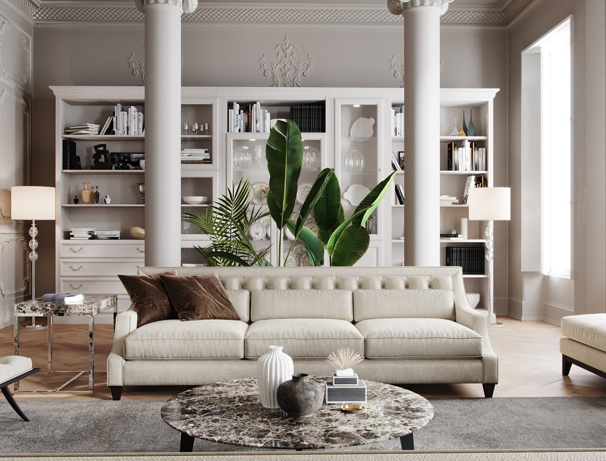 luxurious design living room ideas | 51 Luxury Living Rooms And Tips You Could Use From Them