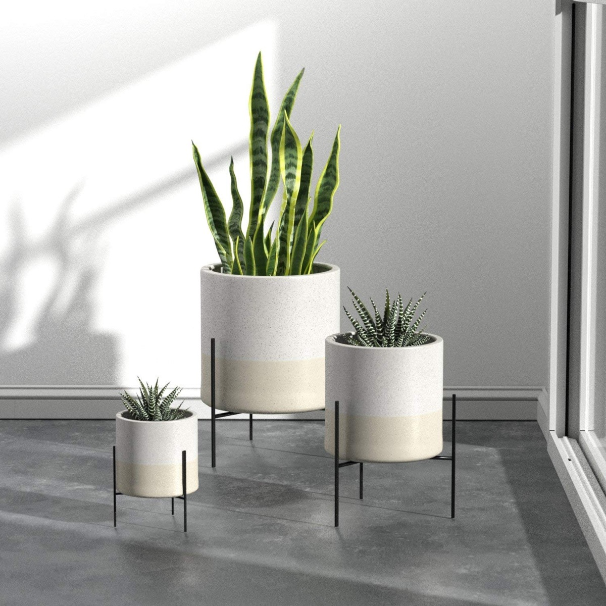 Product Of The Week Beautiful Mid Century Style Ceramic Planters