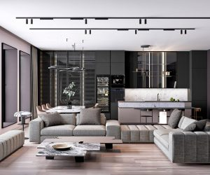 Adver Compare These Two Modern Home Interiors