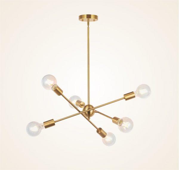 Chrome Modern Chandelier Sputnik Pendant Lighting Ceiling Fixture w// 18 Lights