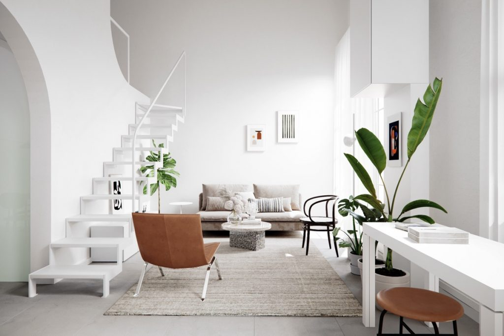 astounding scandinavian home interior design | 3 Homes That Show Off the Beauty In Simplicity Of Modern ...