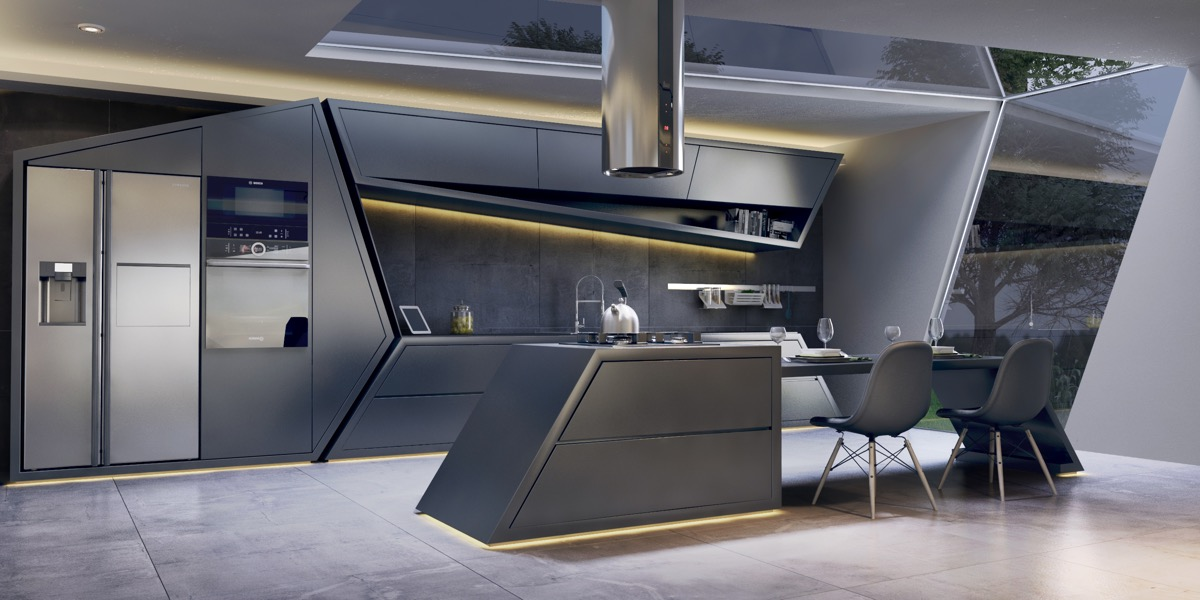 51 Luxury Kitchens And Tips To Help You Design And ... on Ultra Modern Luxury Modern Kitchen Designs  id=82519