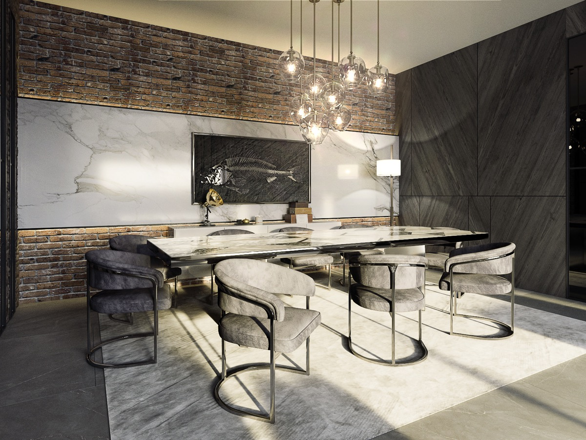 51 Luscious Luxury Dining Rooms Plus Tips And Accessories ...