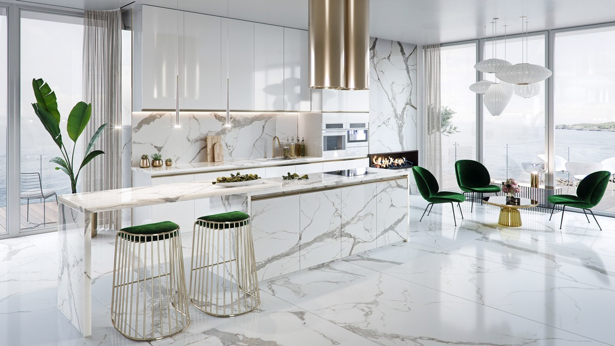 12 Luxury Kitchens And Tips To Help You Design And Accessorize Yours