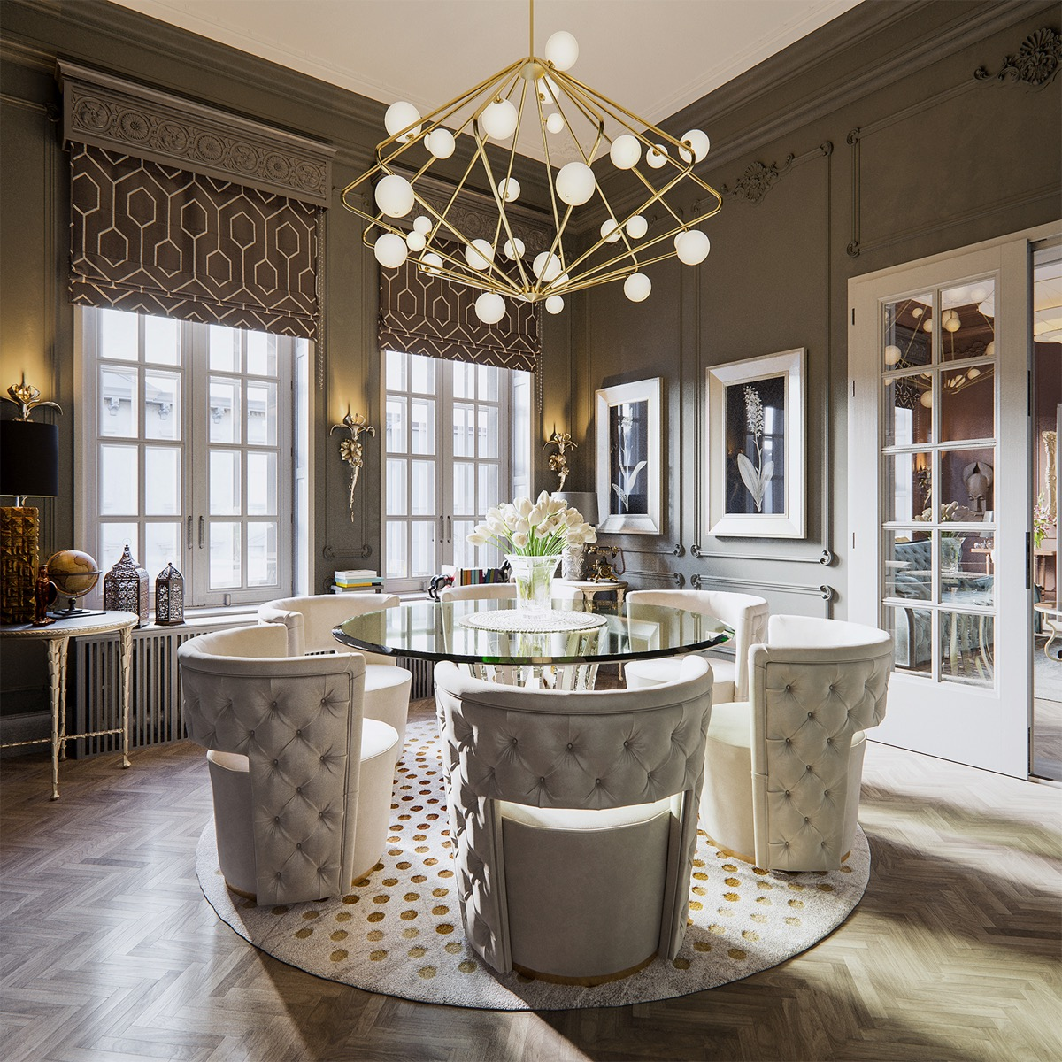 Dining Room: 51 Luscious Luxury Dining Rooms Plus Tips And Accessories