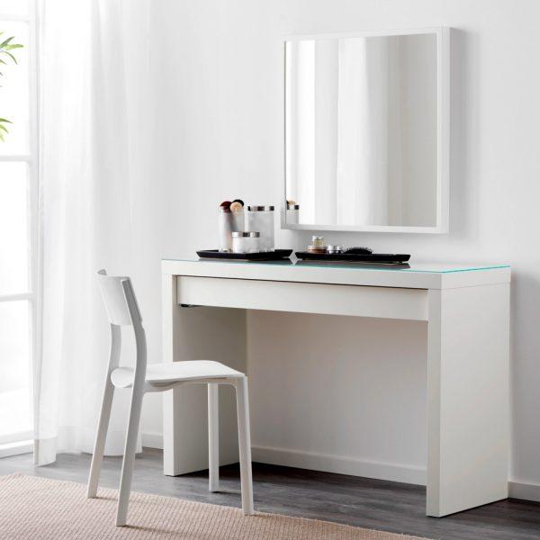 51 Makeup Vanity Tables To Organize, Makeup Vanity No Mirror