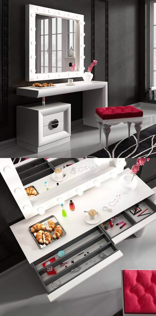 51 Makeup Vanity Tables To Organize Your Makeup Collection