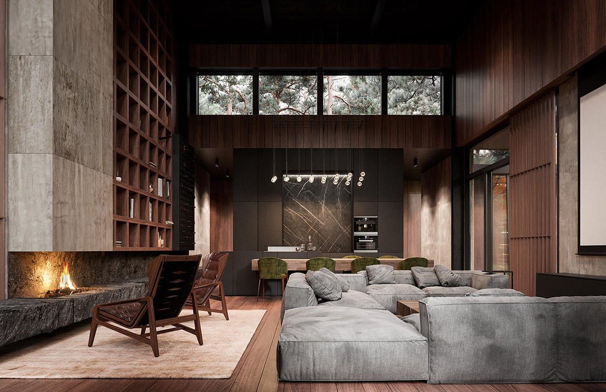 Rich Amp Exquisite Modern Rustic Home Interior