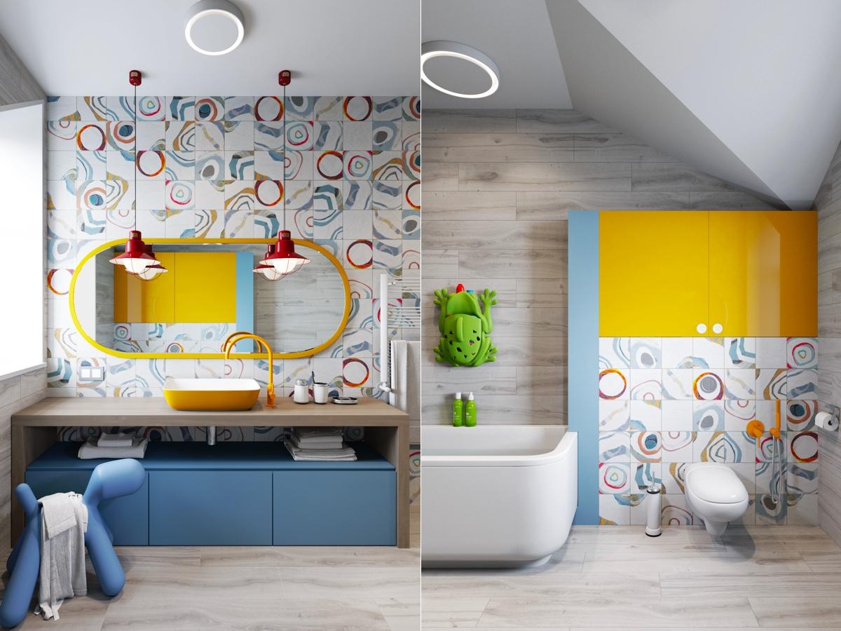 outstanding modern kids bathroom ideas | 51 Modern Bathroom Design Ideas Plus Tips On How To ...