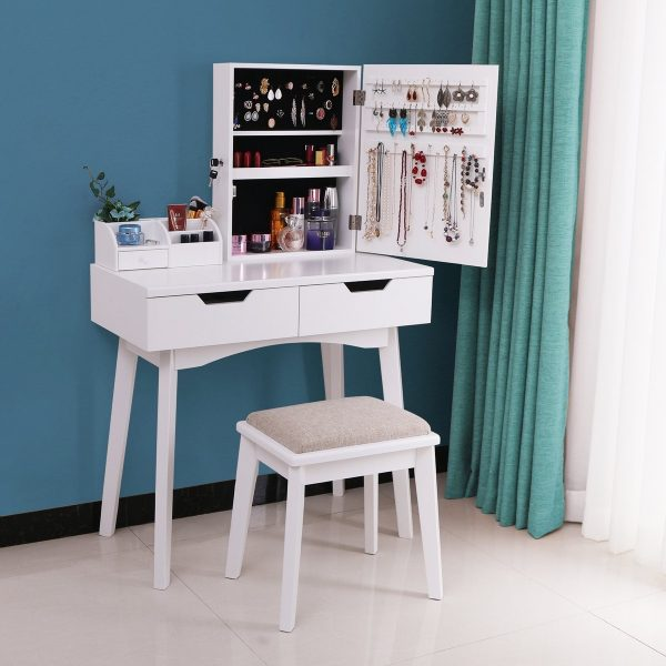 Stupendous 51 Makeup Vanity Tables To Organize Your Makeup Collection Gmtry Best Dining Table And Chair Ideas Images Gmtryco