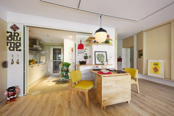 Gorgeous Colorful Remodels Of Two Taiwanese Houses Under 100