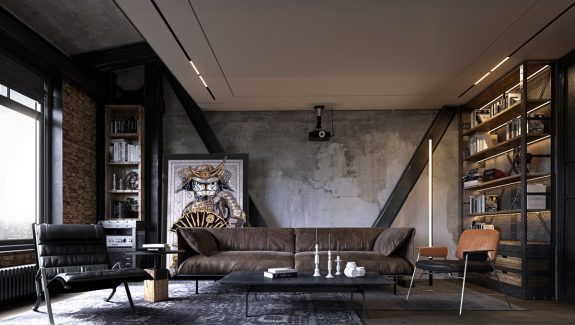 4 Apartments That Turn Up The Dial On Industrial Style