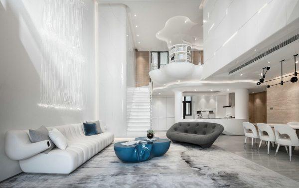 Organic Architecture And Futuristic Decor [Home Tour]