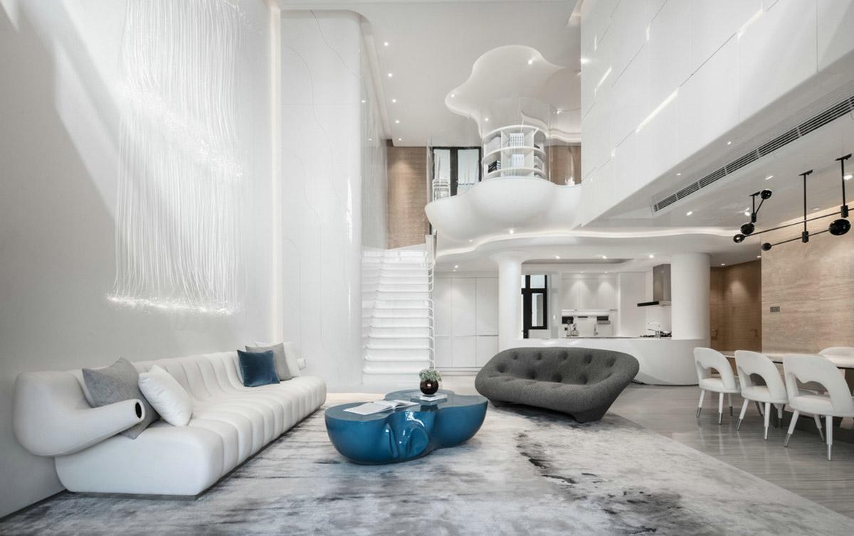 Organic Architecture And Futuristic Decor Home Tour