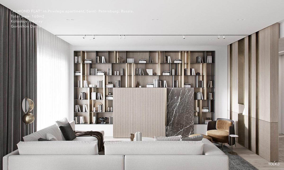 Luxury Interior Design Using A Neutral Palette