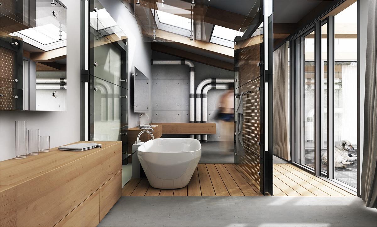 51 Modern Bathroom Design Ideas Plus Tips On How To ... on modern style storage, subway tile small bathroom designs, master bathroom designs, modern style tile, country bathroom designs, modern style baths, modern style remodeling, modern style living room, modern chic bathroom ideas, color bathroom designs, modern style architects, modern style stairs, bathroom bathroom designs, art nouveau bathroom designs, modern style landscape design, easy to clean bathroom designs, contemporary bathroom designs, modern style flooring, modern style furniture design ideas, modern bathroom shower ideas,