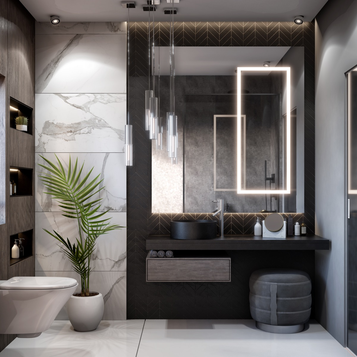 Bathroom: 51 Modern Bathroom Design Ideas Plus Tips On How To