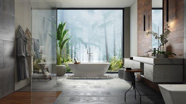 51 Modern Bathroom Design Ideas Plus Tips On How To ... on bathroom design software, bathroom design grid, kitchen visualizer, bathroom tile visualizer,