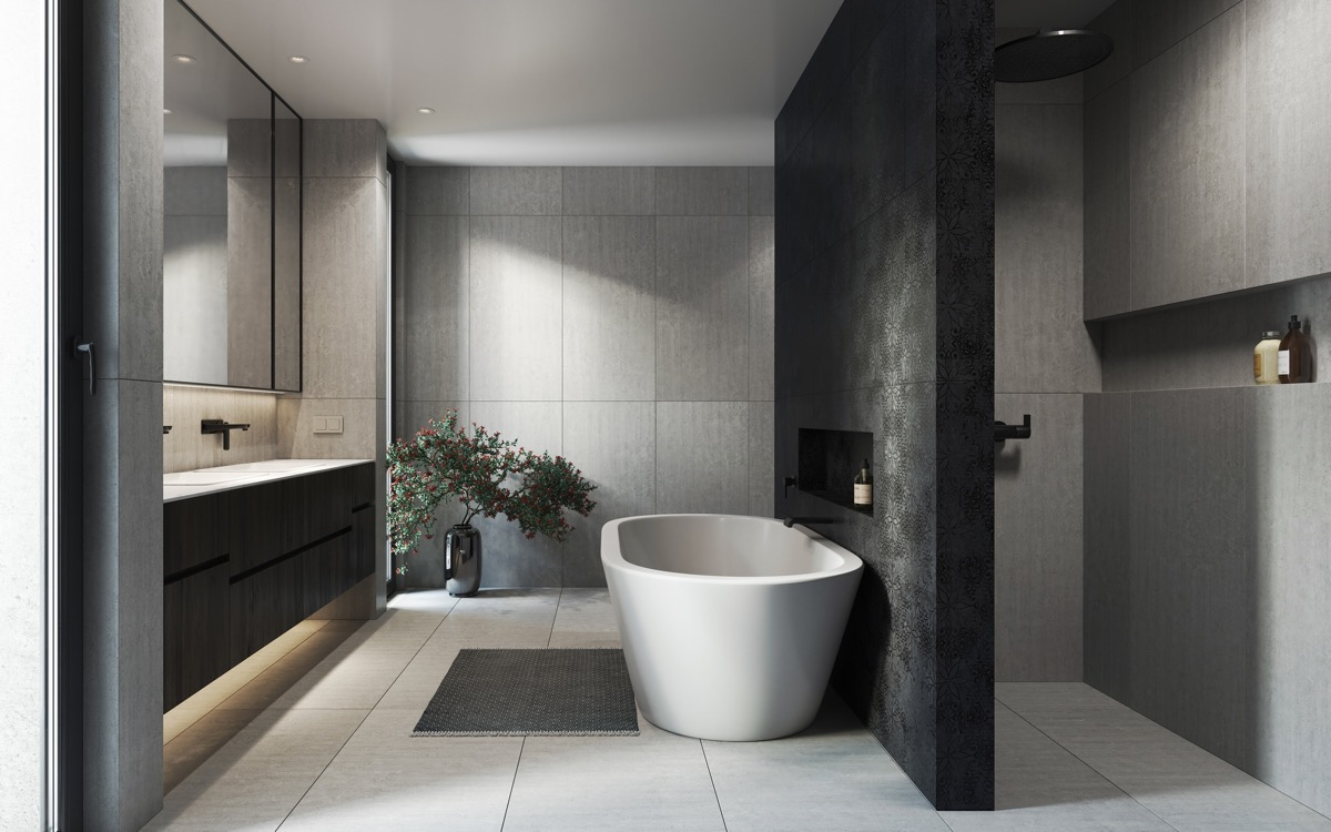 bathroom design modern inspiring house | 51 Modern Bathroom Design Ideas Plus Tips On How To ...