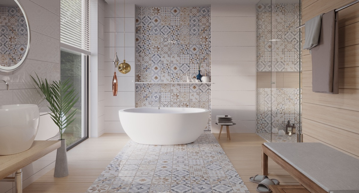 13 Tile Tips For Better Bathroom Tile: 51 Modern Bathroom Design Ideas Plus Tips On How To