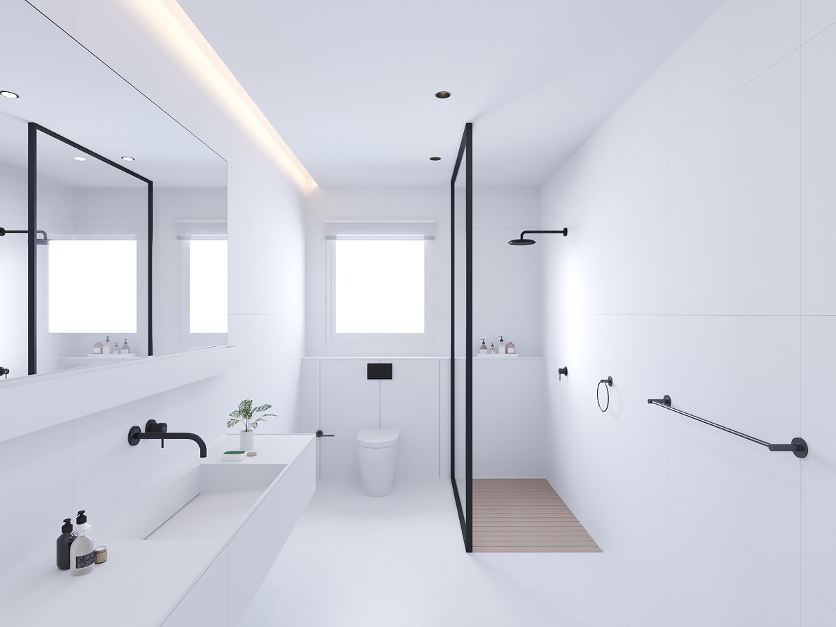 51 Modern Bathroom Design Ideas Plus, Complete Bathroom Designs
