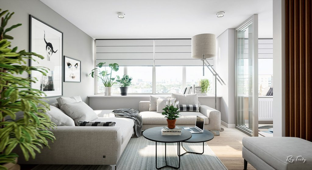 3 Beautiful Small Apartment Interiors Includes Layout