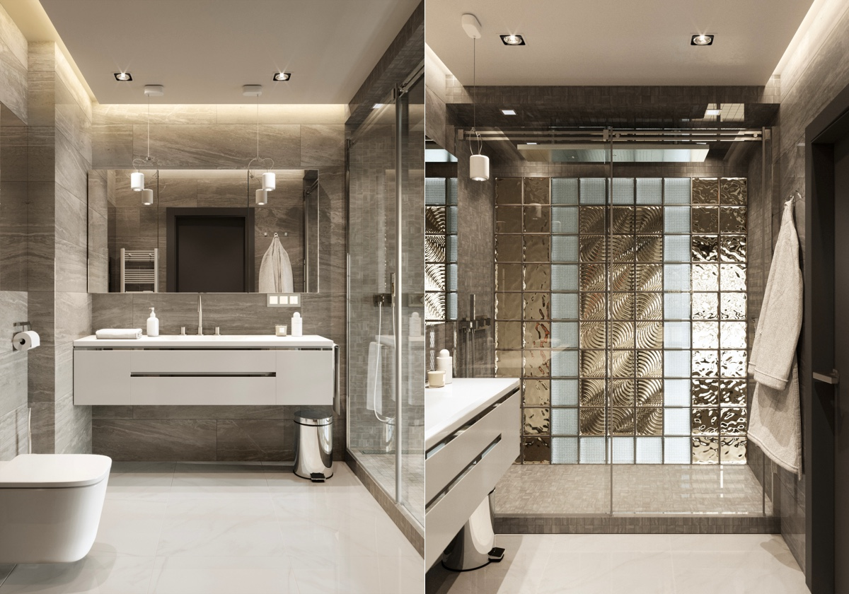 modern washroom design