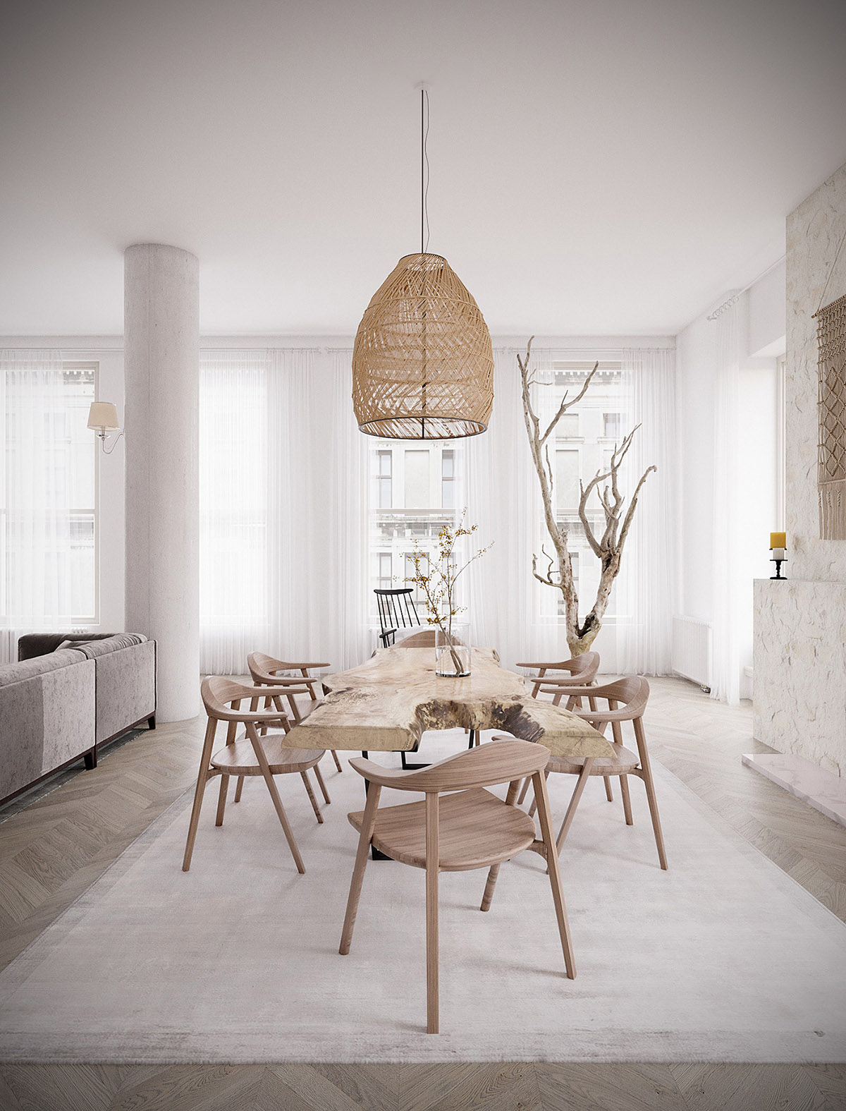 2 Rustic Interiors With A Cool Nomadic Style