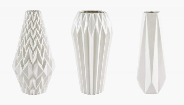 Product Of The Week: Beautiful Vases With Geometric Folds