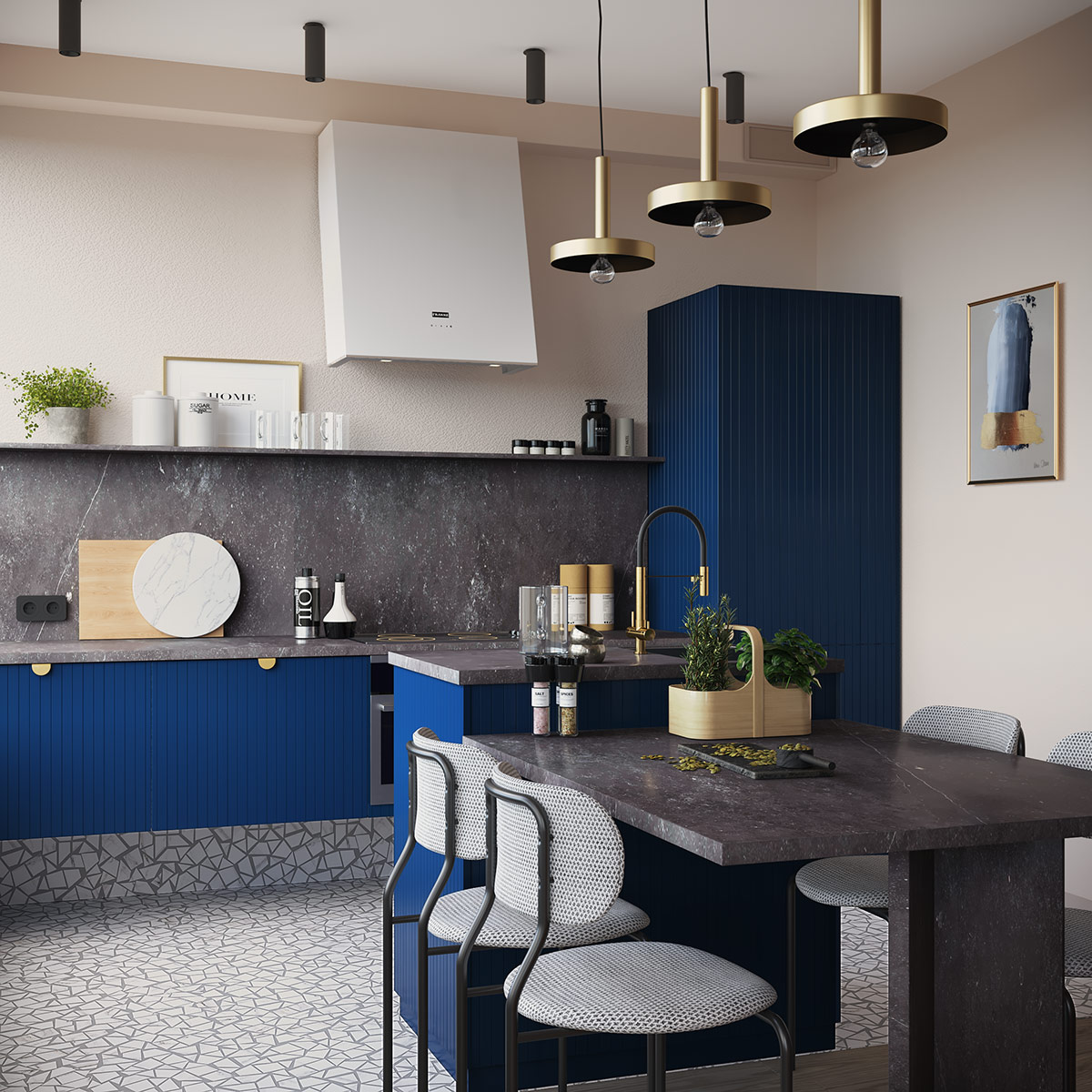 Interior Design Using Orange & Blue: Tips To Help You