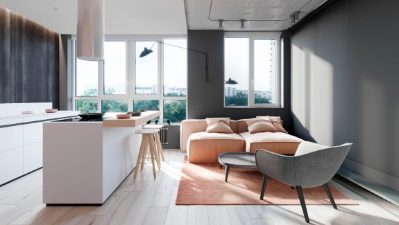 More Pink And Grey Design Inspiration