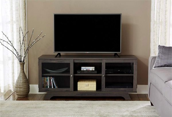 51 Tv Stands And Wall Units To Organize, Tv Stands With Cabinet Doors