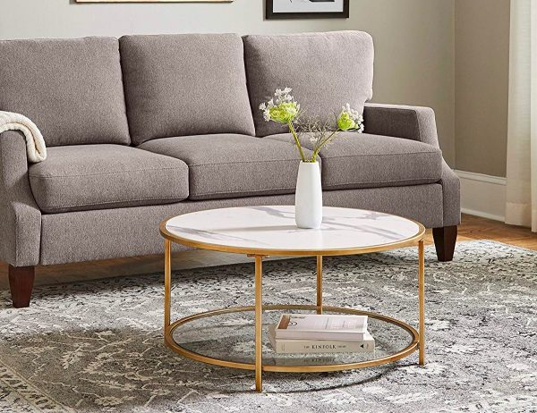51 Round Coffee Tables To Give Your Living Room A Boost Of Style | 462x600
