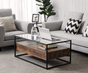 50 Unique Coffee Tables That Help You Declutter And Stylise