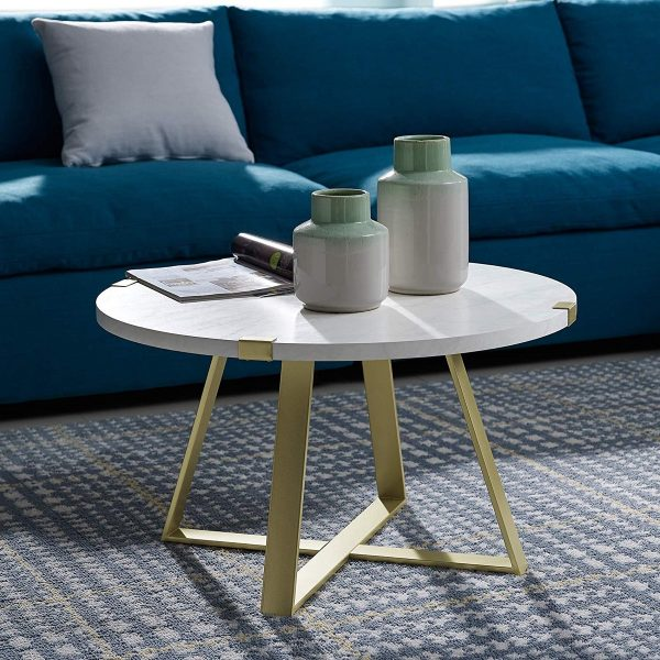 51 Round Coffee Tables To Give Your, Small Round Coffee Tables