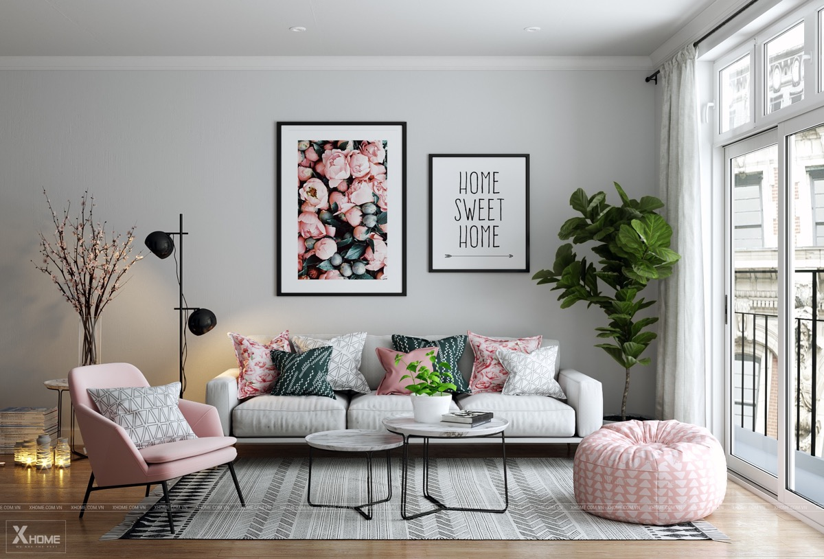 51 Pink Living Rooms With Tips Ideas And Accessories To Help You