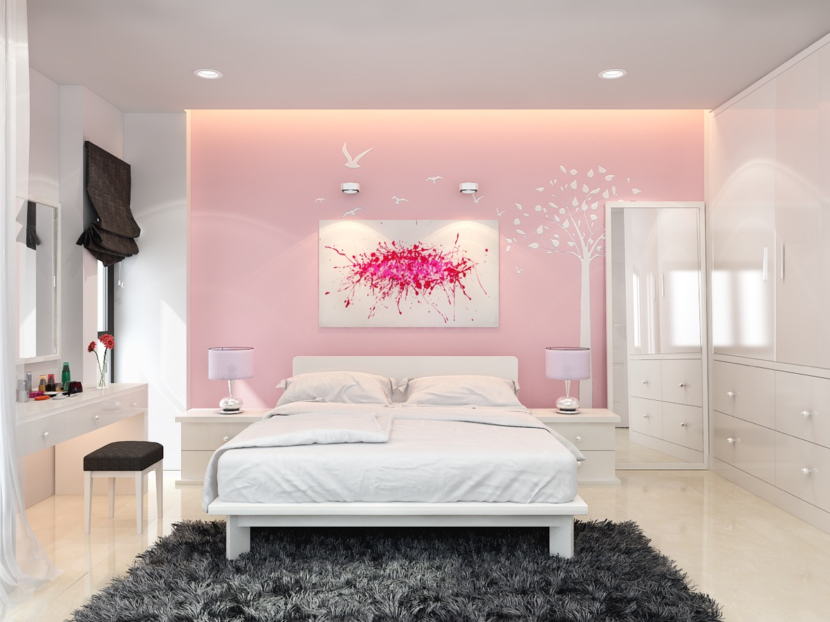 3 Pink Bedrooms With Images, Tips And Accessories To Help You