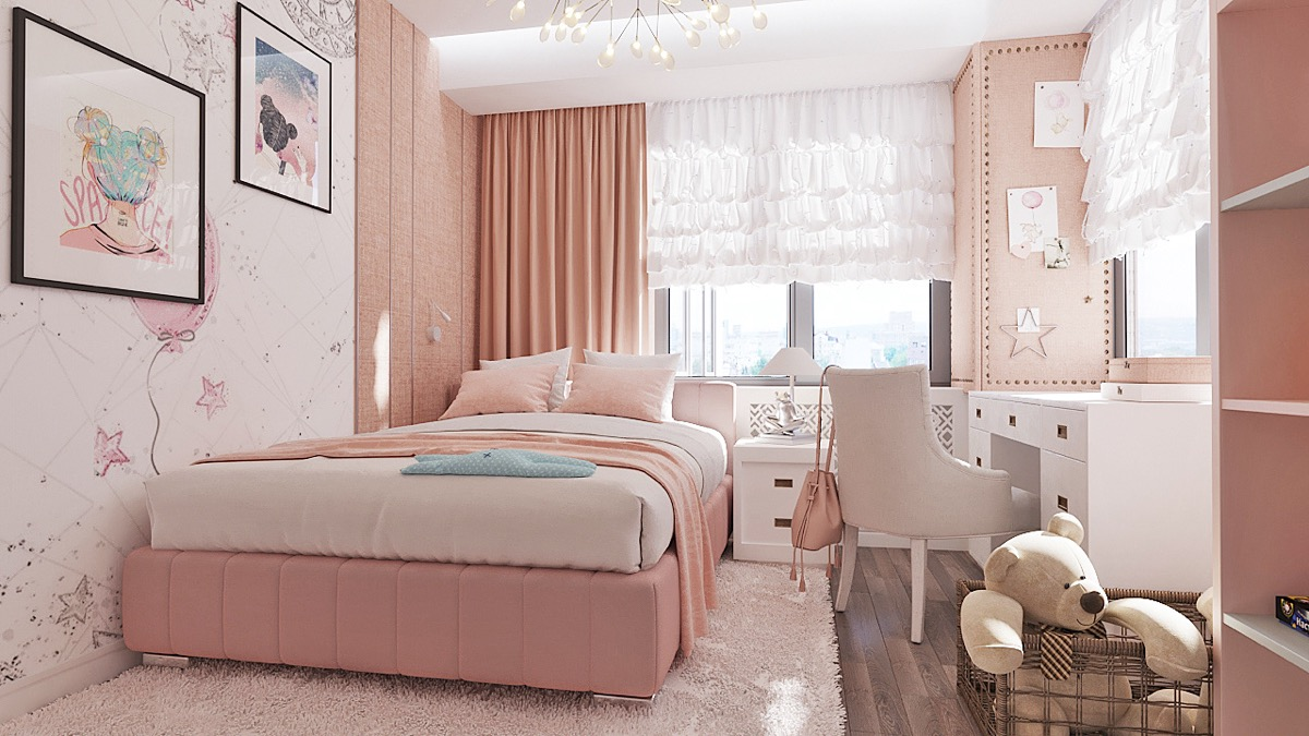 12 Pink Bedrooms With Images, Tips And Accessories To Help You