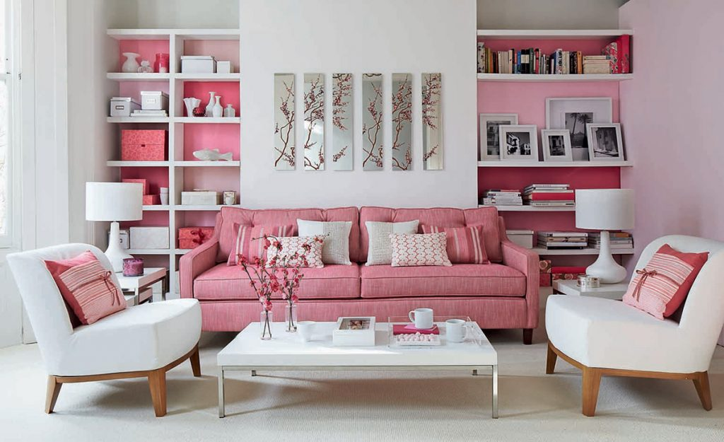 Awesome 51 Pink Living Rooms With Tips Ideas And Accessories To Interior Design Ideas Gentotthenellocom