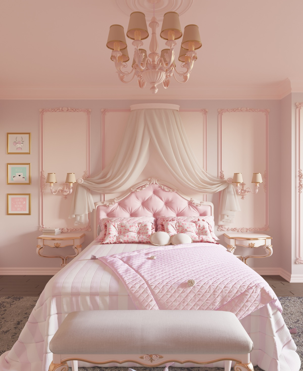 8 Pink Bedrooms With Images, Tips And Accessories To Help You