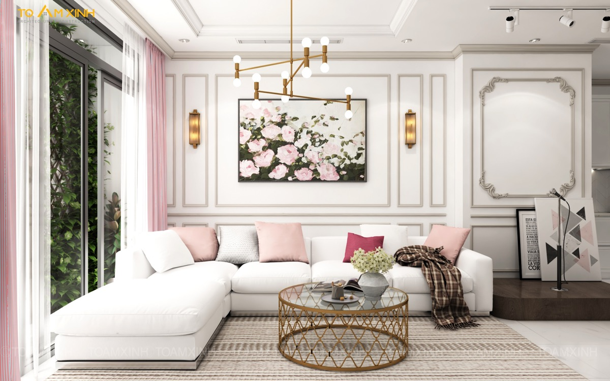 incredible pink living room ideas | 51 Pink Living Rooms With Tips, Ideas And Accessories To ...