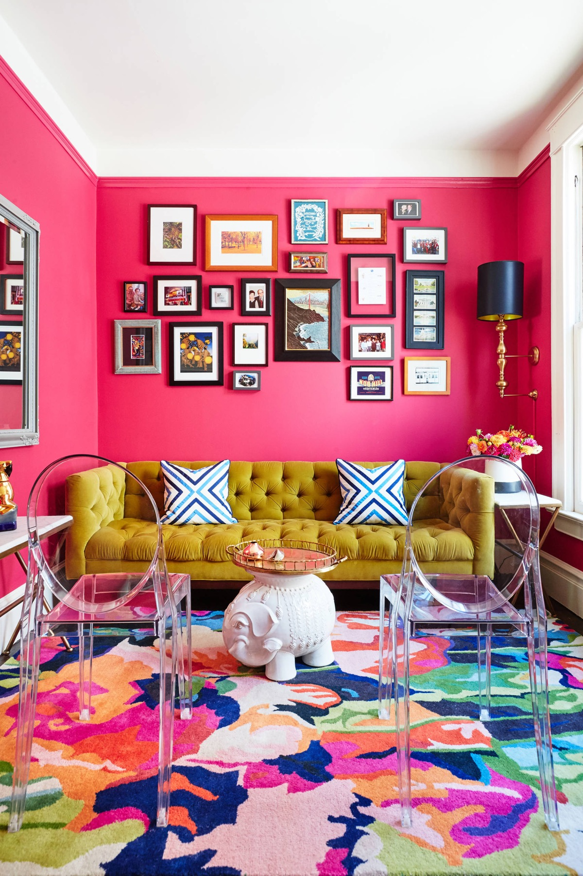 Pink Living Room Design: 51 Pink Living Rooms With Tips, Ideas And Accessories To