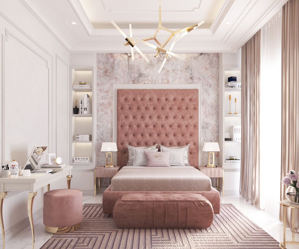 9 Pink Bedrooms With Images, Tips And Accessories To Help You