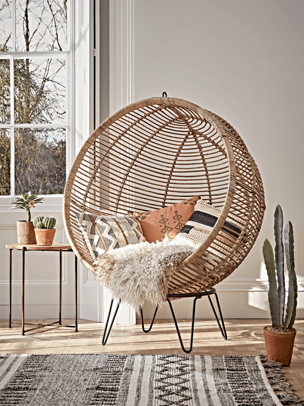 Egg Chair Rotan.51 Wicker And Rattan Chairs To Add Warmth And Comfort To Any Space