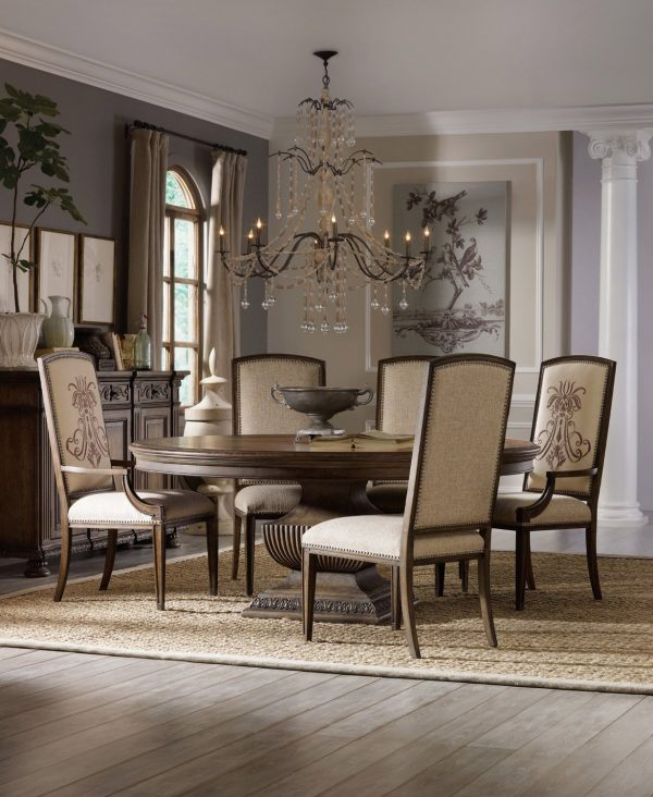 Superb 51 Round Dining Tables That Save On Space But Never Skimp On Short Links Chair Design For Home Short Linksinfo