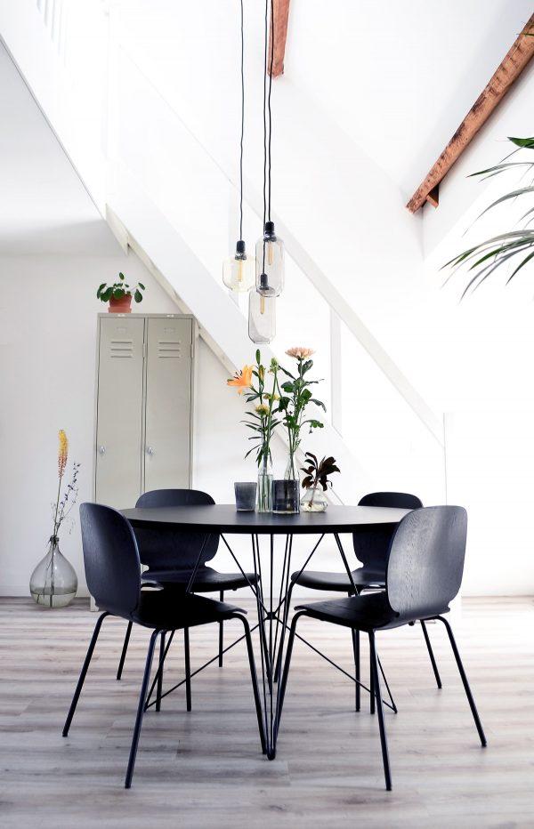 Furniture Modern Round Dining Table, Modern Round Dining Set