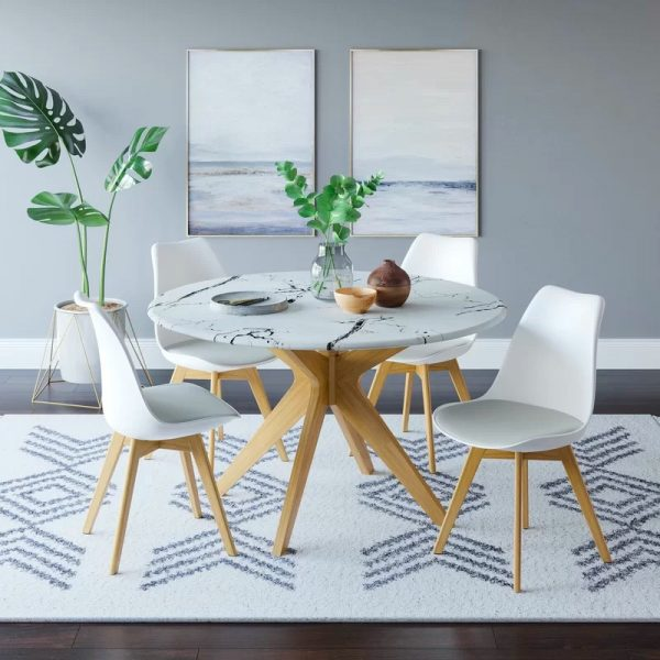 Round Dining Tables Ideas And Styles For Sophisticated: 51 Round Dining Tables That Save On Space But Never Skimp
